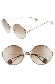 Gucci 58mm Gradient Lens Round Sunglasses   Nordstrom at Nordstrom