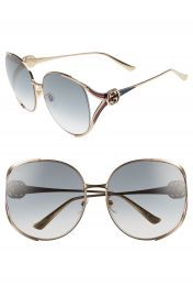 Gucci 63mm Open Temple Sunglasses   Nordstrom at Nordstrom