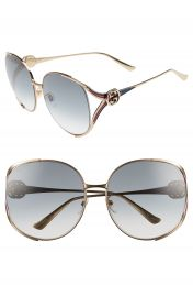 Gucci 63mm Open Temple Sunglasses at Nordstrom