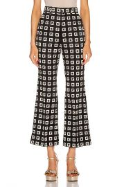 Gucci Cropped Pants in Black   Green   Red   FWRD at Forward