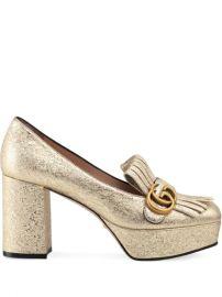 Gucci Decollete In Pelle Loafers  - Farfetch at Farfetch