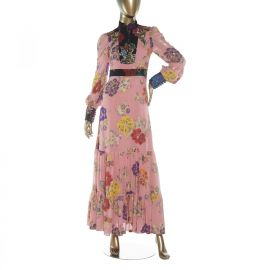 Gucci Floral Evening Dress at Janet Mandell