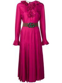 Gucci GG Belted Dress - Farfetch at Farfetch