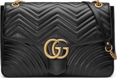 Gucci GG Large Marmont 2 0 Matelass   Leather Shoulder Bag   Nordstrom at Nordstrom