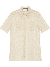 Gucci GG Macram   Shirt  - Farfetch at Farfetch