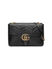 Gucci GG Marmont Large Shoulder Bag - Farfetch at Farfetch