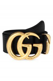 Gucci GG Marmont Lizard Buckle Leather Belt   Nordstrom at Nordstrom