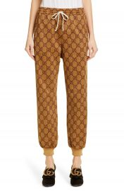 Gucci GG Print Technical Jersey Jogger Pants   Nordstrom at Nordstrom