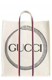 Gucci GG Supreme Canvas Tote Bag at Nordstrom