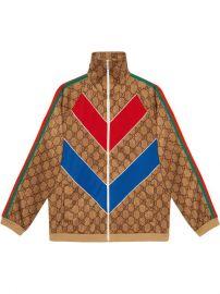 Gucci GG Technical Jersey Jacket - Farfetch at Farfetch