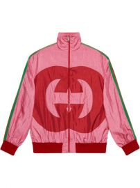Gucci Interlocking G Technical Jersey Jacket - Farfetch at Farfetch
