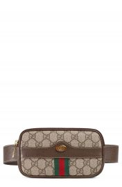 Gucci Ophidia GG Supreme Small Canvas Belt Bag at Nordstrom