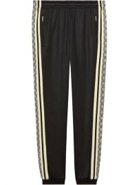 Gucci Oversize Technical Jersey Jogging Pant - Farfetch at Farfetch