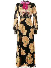 Gucci Poppy Print Gown - Farfetch at Farfetch