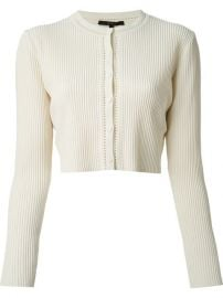 Gucci Ribbed Cardigan - at Farfetch