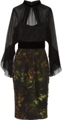 Gucci Silk and Chiffon Dress at Net A Porter