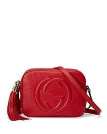 Gucci Soho Leather Disco Bag  Tobasco Red at Neiman Marcus