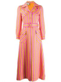 Gucci Striped Shirt Dress - Farfetch at Farfetch