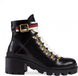 Gucci Trip Lug Sole Combat Boot  Women    Nordstrom at Nordstrom