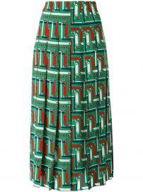 Gucci bridal strap print skirt at Farfetch