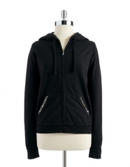 Guess Studded Hoodie at Lord & Taylor