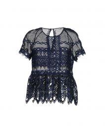 Guipure blouse by Jonathan Simkhai at Yoox