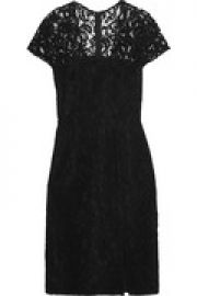 Guipure lace mini dress at The Outnet