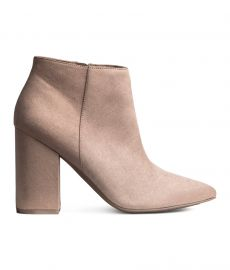 H M Ankle Boots at H&M