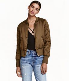 H and M Bomber Jacket at H&M