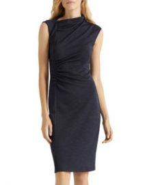 HALSTON Asymmetric Draped Dress Women - Bloomingdale s at Bloomingdales
