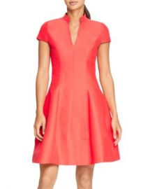 HALSTON Cap-Sleeve Skater Dress Women - Bloomingdale s at Bloomingdales