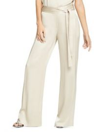 HALSTON Flowing Wide-Leg Pants Women - Bloomingdale s at Bloomingdales