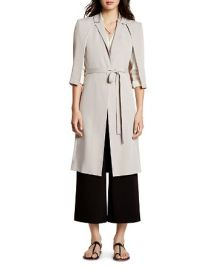 HALSTON HERITAGE Cape Trench Coat at Bloomingdales