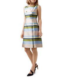 HOBBS LONDON Ada Striped Dress at Bloomingdales