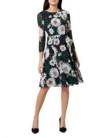 HOBBS LONDON Aurelie Floral A-Line Dress   Women - Bloomingdale s at Bloomingdales