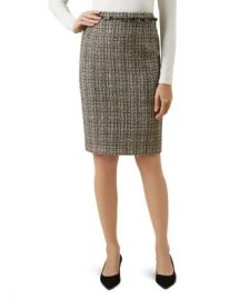 HOBBS LONDON Jessie Tweed Pencil Skirt  Women - Bloomingdale s at Bloomingdales