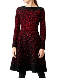 HOBBS LONDON Jodie Jacquard A-Line Dress Women - Bloomingdale s at Bloomingdales