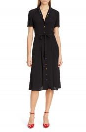 HVN Maria Pajama Midi Dress   Nordstrom at Nordstrom