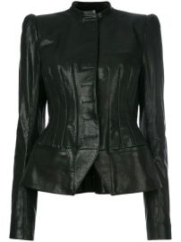 Haider Ackermann Fitted Biker Jacket - Farfetch at Farfetch