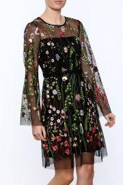 Hale Bob Embroidered dress at Shoptiques