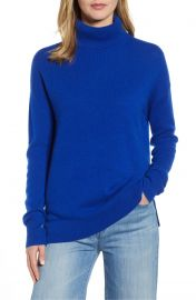 Halogen   Cashmere Turtleneck Sweater at Nordstrom