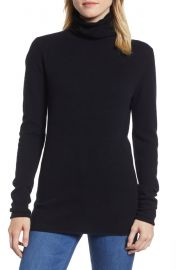 Halogen   Funnel Neck Cashmere Sweater  Regular  amp  Petite    Nordstrom at Nordstrom