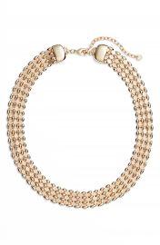 Halogen   Glimmer Chain Collar at Nordstrom