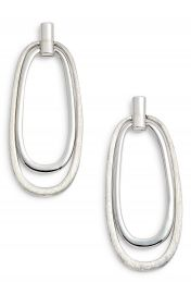 Halogen   Oval Drop Earrings at Nordstrom