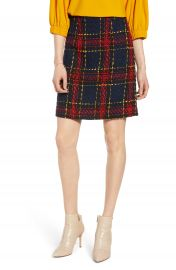 Halogen   Tweed Miniskirt  Regular  amp  Petite    Nordstrom at Nordstrom