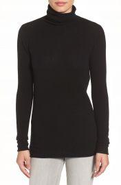 Halogen   Wool   Cashmere Funnel Neck Sweater  Regular   Petite at Nordstrom