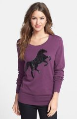 Halogenand174 Embellished Sweater at Nordstrom