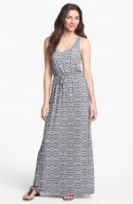 Halter maxi dress by Max and Mia at Nordstrom