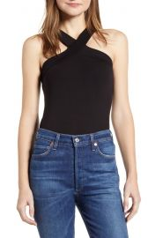 Halter neck tank top at Nordstrom