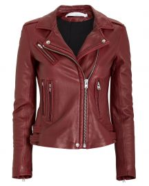Han Leather Moto Jacket at Intermix